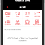 Finisher Zone Single Result Mobile