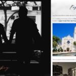wedding website festitivities page